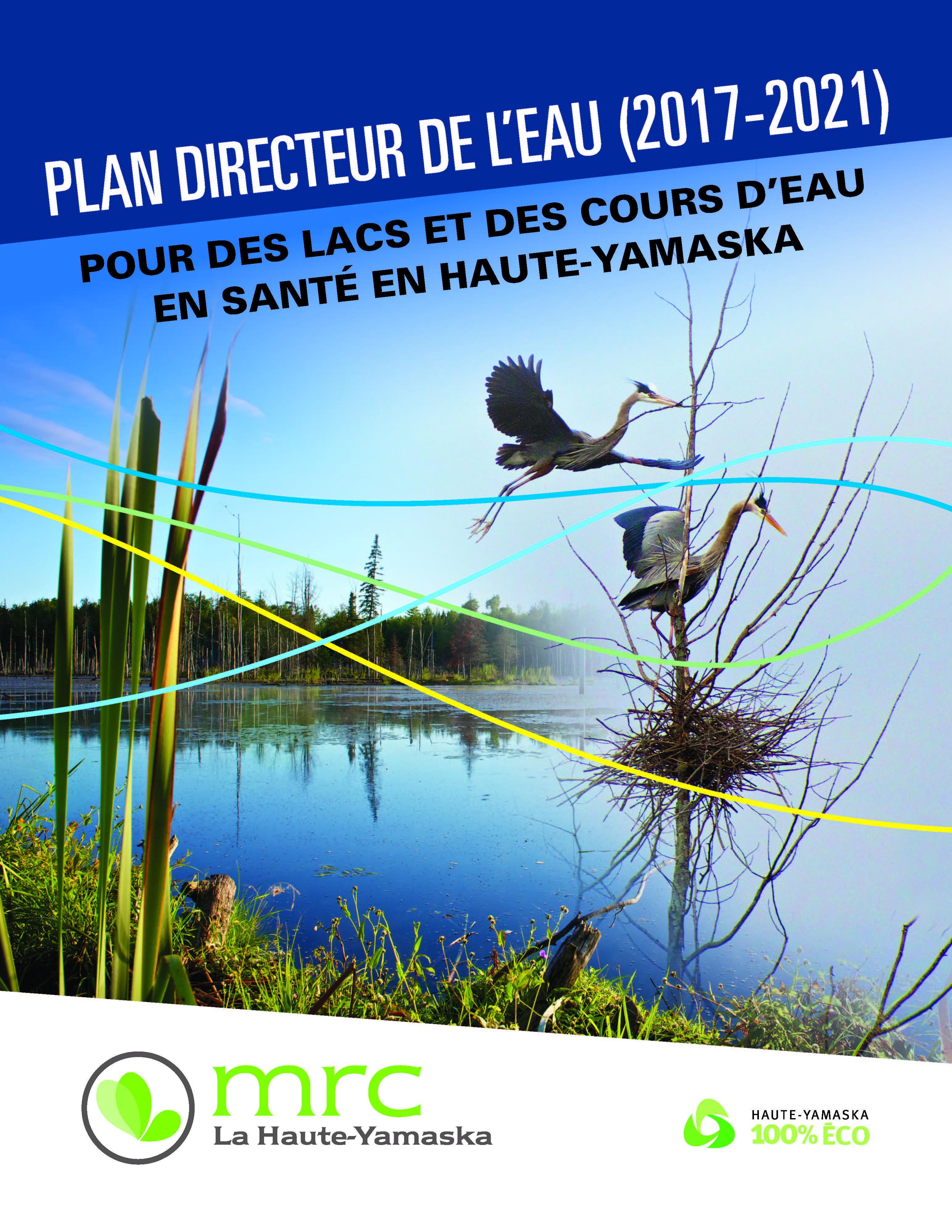 La MRC adopte son Plan directeur de l'eau 2017-2021