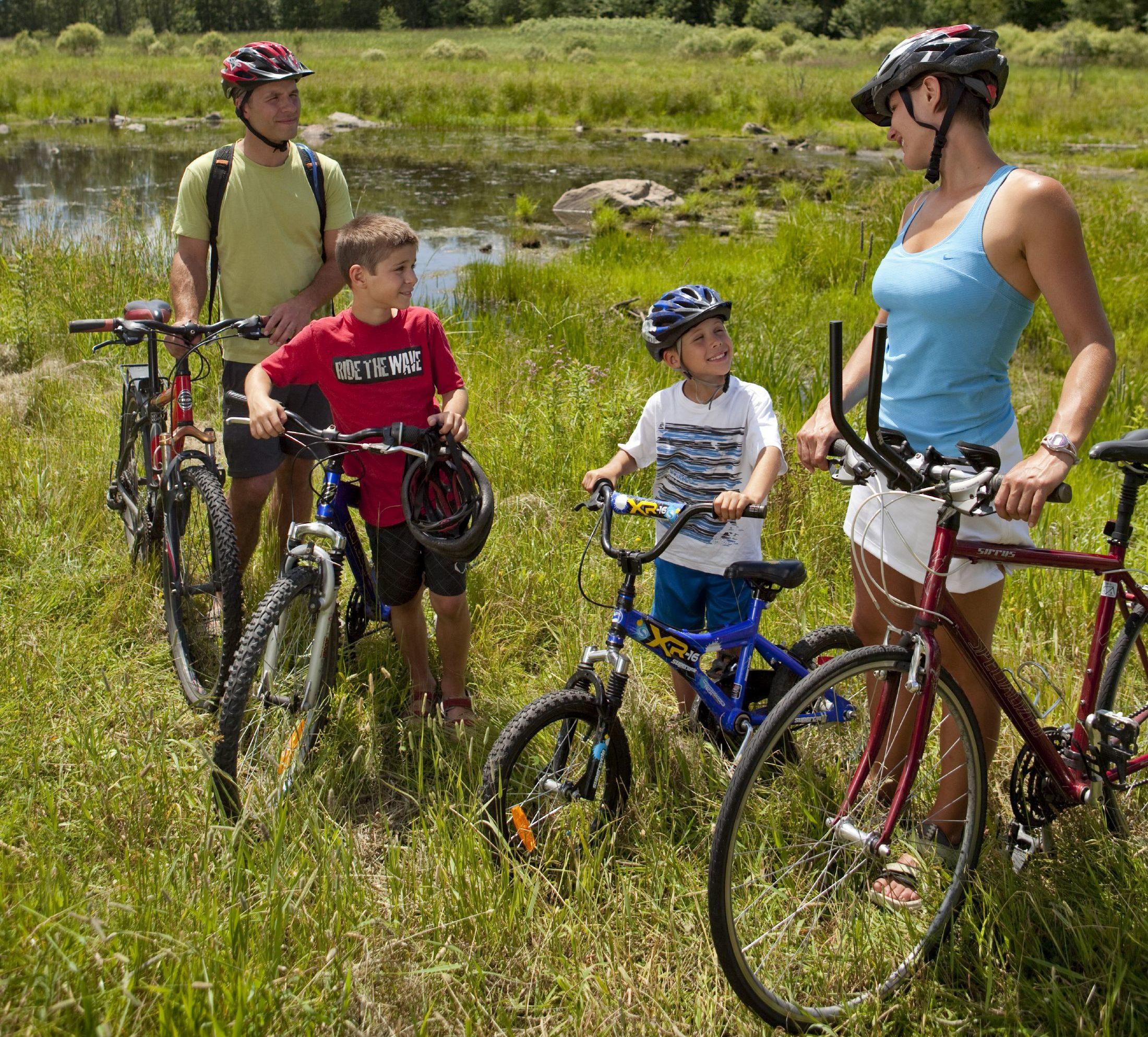 Journée porte ouverte le 26 mai : le parc national de la Yamaska, votre destination vélo!