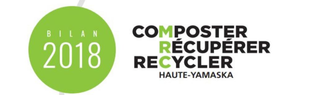Bilan 2018 en gestion des matières résiduelles – La Haute-Yamaska est gênée de jeter… et ça se voit!