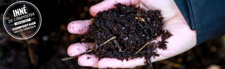 Des efforts collectifs qui portent leurs fruits! Du compost disponible sans frais à la plateforme de compostage de Cowansville.