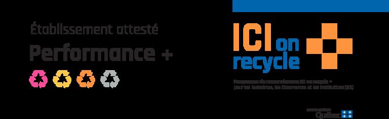 ICI on recycle + : la MRC de La Haute-Yamaska obtient la certification Performance +